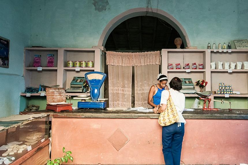 Trinidad - empty shops