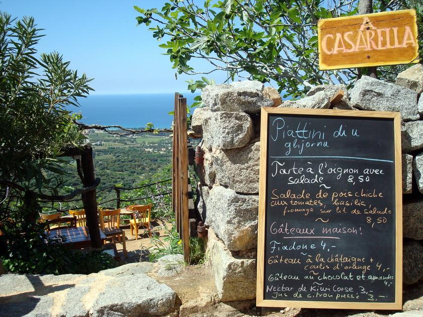 Heerlijk eten in Corsica