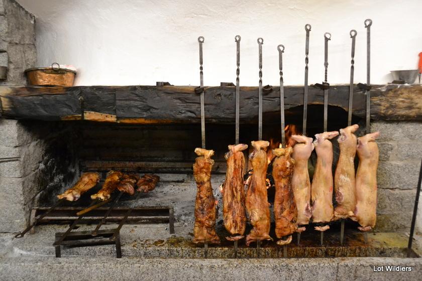 Gebraden varkens