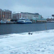 Kopenhagen in de sneeuw