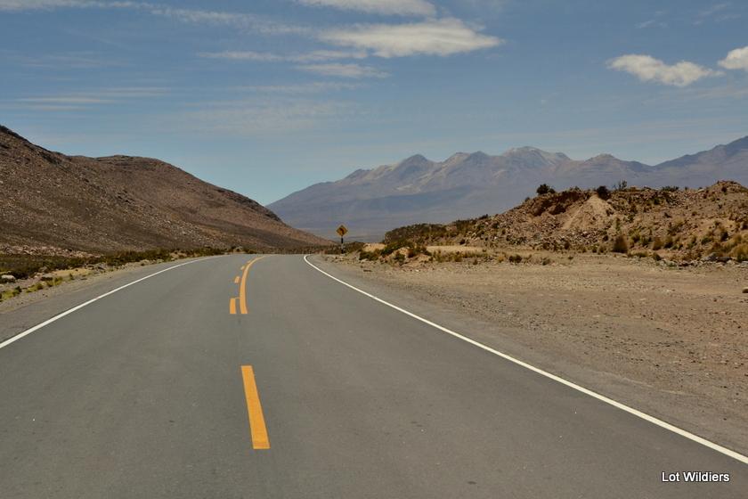 Onderweg in de Andes. Hoger en hoger!
