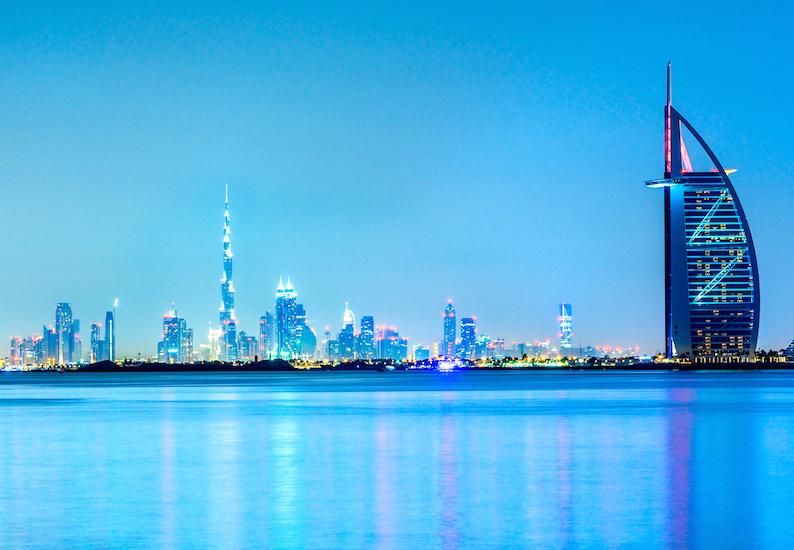 Dubai Winterzon Bestemming