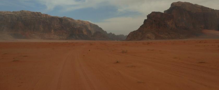 voor het eerst naar jordanië
