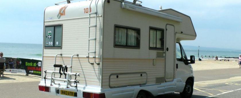 per camper door engeland