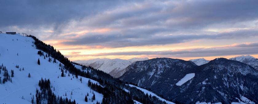 genieten van de alpen zonder skiën