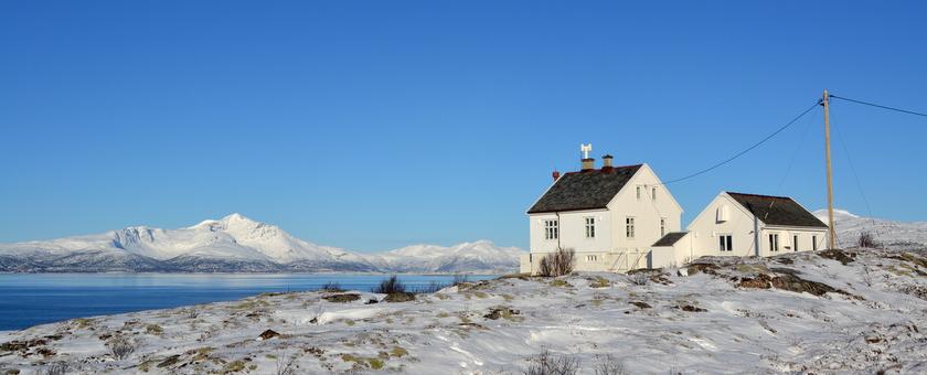 een bezoek aan de vuurtoren van Barøya