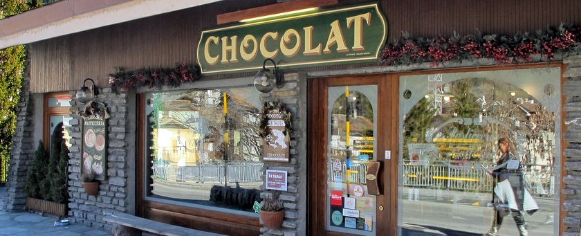 la thuile: stad van chocolade