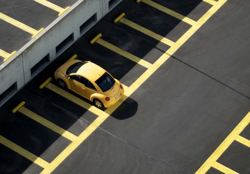 Parkeren aan de luchthaven