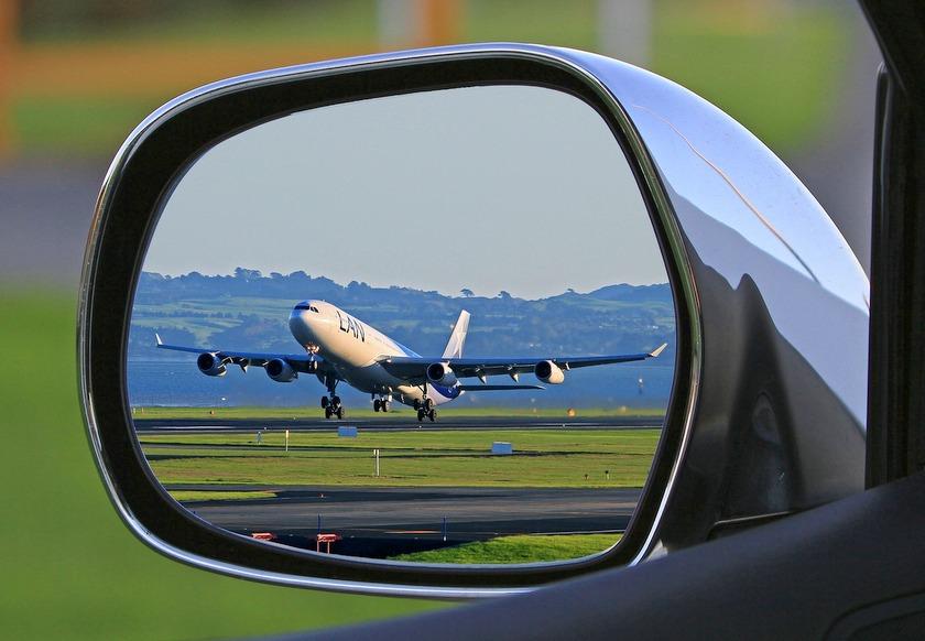 parkeren bij de luchthaven