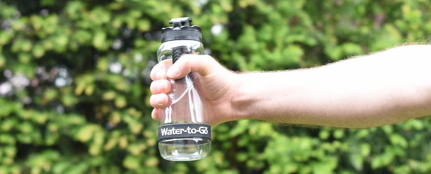 Winnen: een Water-To-Go drinkfles met filter