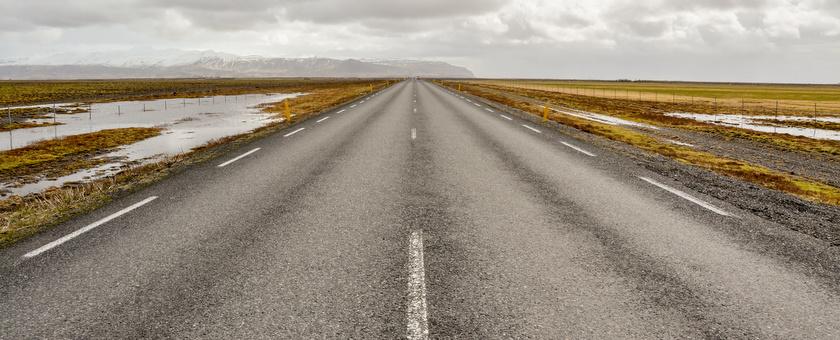 naar het einde van de wereld in noord-ijsland