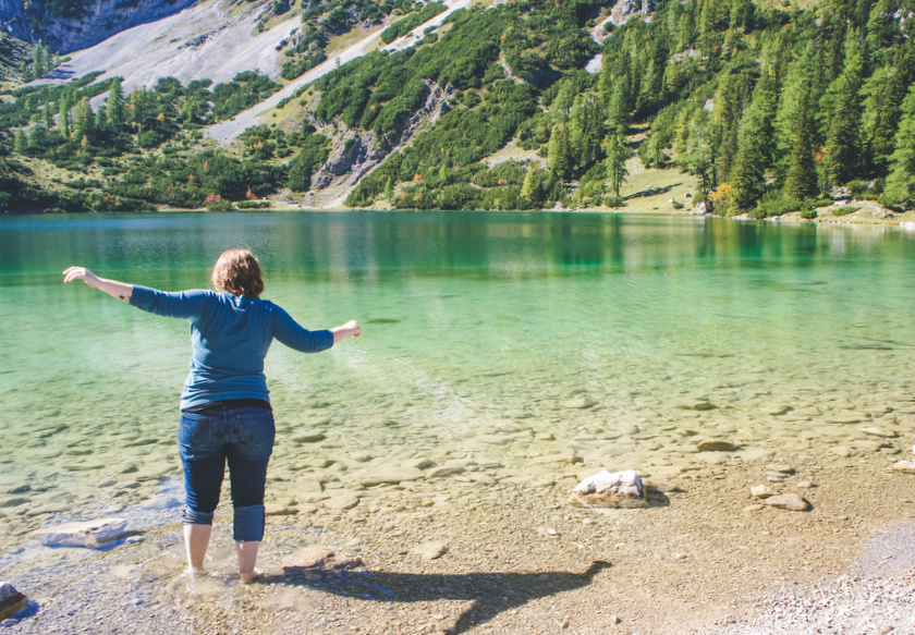 vakantie aan het water
